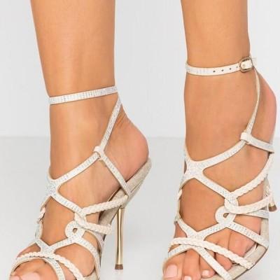リバーアイランド レディース サンダル High heeled sandals - bone