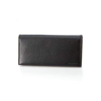 カルバンクライン 長財布 ラップ小物 ブラック Calvin Klein PLATINUM ラッピング無料