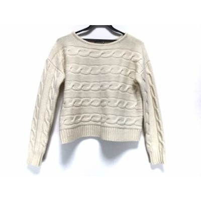 セオリーリュクス theory luxe 長袖セーター サイズ038 M レディース アイボリー【中古】20200530