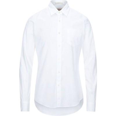 ロイロジャース ROY ROGER'S メンズ シャツ トップス Solid Color Shirt White
