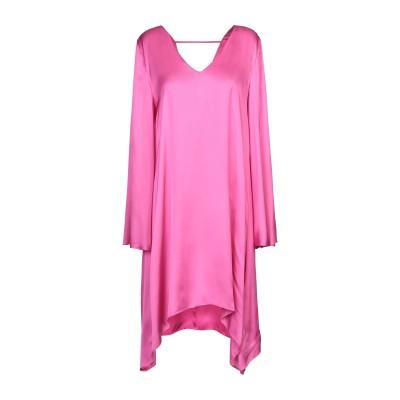 マニラ グレース MANILA GRACE ミニワンピース&ドレス フューシャ 44 レーヨン 100% ミニワンピース&ドレス