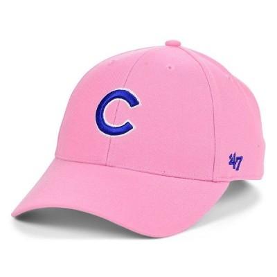 47ブランド 帽子 アクセサリー メンズ Chicago Cubs Pink Series Cap Rose