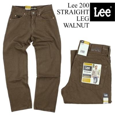 リー Lee #200 ストレート ジーンズ ウォルナッツ STRAIGHT LEG JEAN WALNUT