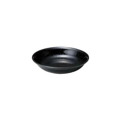 カ655-097 アジアン(黒・赤) 黒14cm深皿