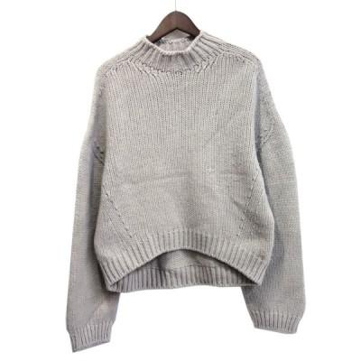 【3月18日値下】LE CIEL BLEU 20SS 「Color Low Gauge Knit Tops」 ローゲージニット ベージュ サイズ:36