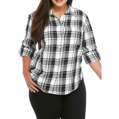 ラルフローレン レディース シャツ トップス Plus Size Lizbeth Plaid Shirt