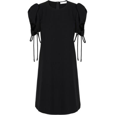シーバイクロエ SEE BY CHLOÉ ミニワンピース&ドレス ブラック 34 ポリエステル 100% ミニワンピース&ドレス