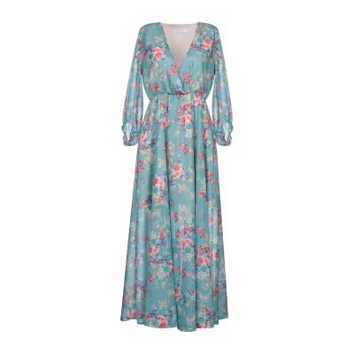 カオス KAOS ロングワンピース&ドレス スカイブルー 44 ポリエステル 100% ロングワンピース&ドレス