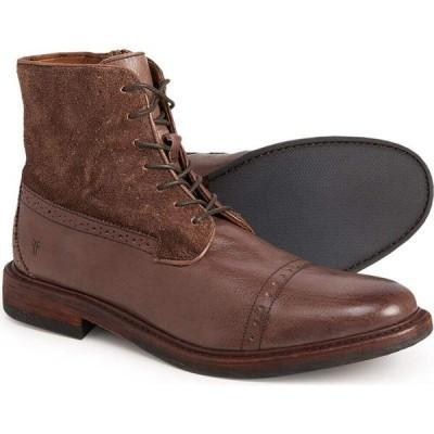 フライ Frye メンズ ブーツ レースアップブーツ シューズ・靴 Murray Lace-Up Boots - Leather Dark Brown