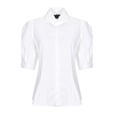 RALPH LAUREN BLACK LABEL シャツ ホワイト 10 コットン 94% / ポリウレタン 6% シャツ