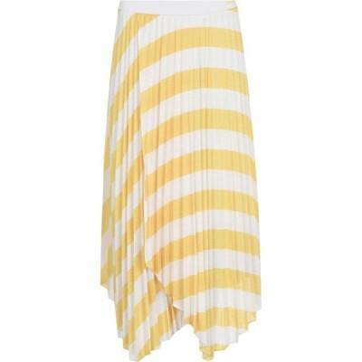 ヒューゴ ボス BOSS レディース ひざ丈スカート スカート hbo trena midi skirt Yellow