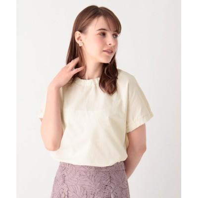 index / サンディタッチスタンドギャザープルオーバー【WEB限定サイズ】 WOMEN トップス > Tシャツ/カットソー