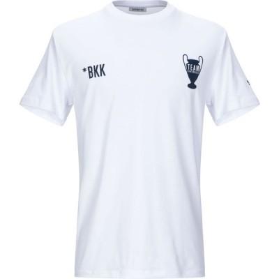 ビッケンバーグ BIKKEMBERGS メンズ Tシャツ トップス t-shirt White