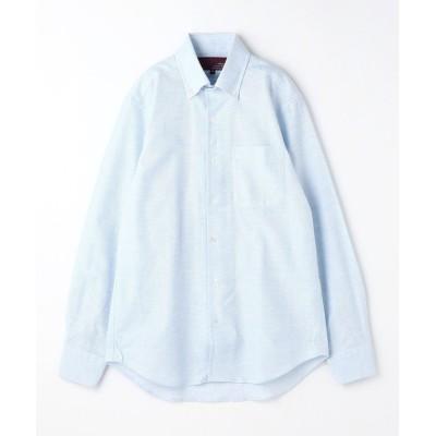 【ムッシュニコル】 メランジ調カラミドビードレスシ メンズ 60ブルー 46(M) MONSIEUR NICOLE