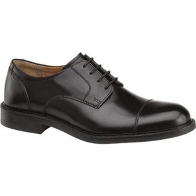 ジョンストンandマーフィー Johnston and Murphy メンズ 革靴・ビジネスシューズ ダービーシューズ シューズ・靴 Tabor Cap Toe Derby Bl