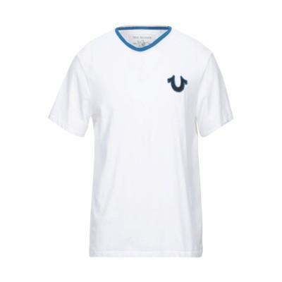 トゥルーレリジョン TRUE RELIGION T シャツ ホワイト L コットン 100% T シャツ