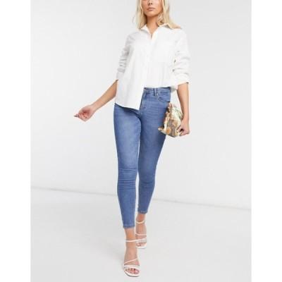 オンリー レディース デニムパンツ ボトムス Only skinny jeans in light blue