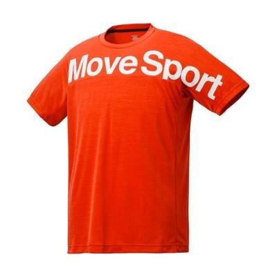 [デサント] サンスクリーン Tシャツ杢 MOVE SPORT 吸汗速乾 UVカット(UPF15) DMMPJA56 メンズ ORM O