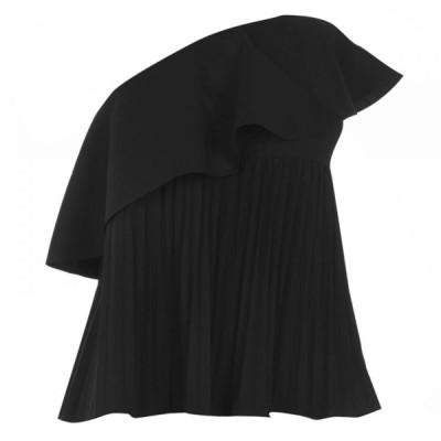 イブルース Iblues レディース ブラウス・シャツ トップス Fisica Shirt Black