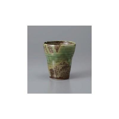 ロックカップ ビアカップ 越前織部フリーカップ 日本製