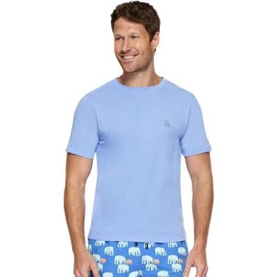 トム&テディー Tom & Teddy メンズ Tシャツ トップス Solid Short Sleeve T-Shirt Chambray Blue