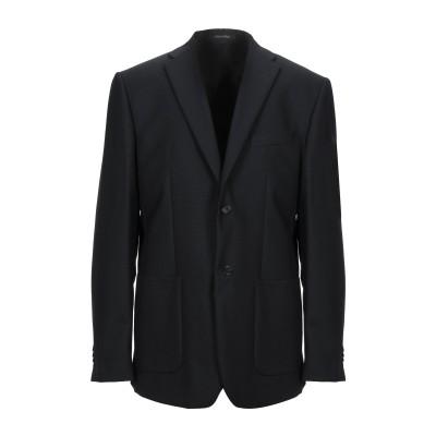 マエストラミ MAESTRAMI テーラードジャケット ブラック 58 バージンウール 100% テーラードジャケット