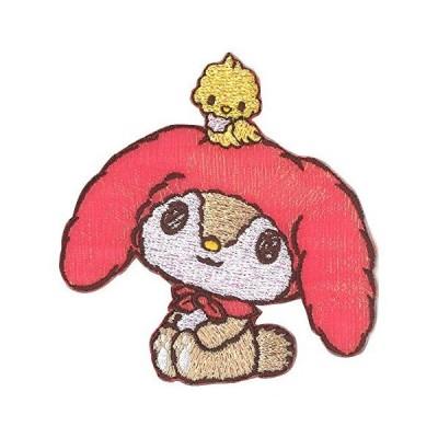サンリオ キャラクターワッペン大 めろぉ ワッペン大 S01Y0986
