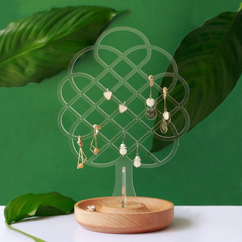 空氣樹-原木飾品架 ─ 居家辦公小物  送禮包裝 加購刻字