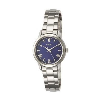 [セイコーウォッチ] 腕時計 セイコー セレクション ソーラー ブルー文字盤 ローマ数字配置 サファイアガラス STPX049 レディース シルバー