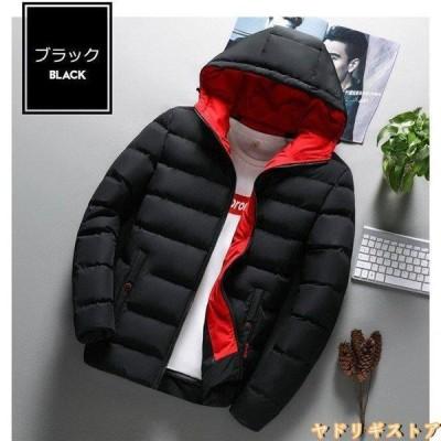 ダウンジャケット メンズ フード付き 軽量 冬物 保温 ブルゾン アウター 通勤 ビジネス アウトドア ブルゾン カジュアル m-013