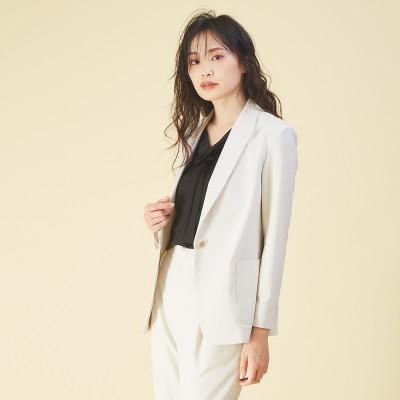 qualite(カリテ)/【夏スーツ】トラベルジャケット