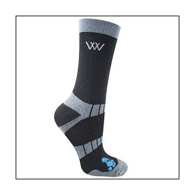 Woof Wear SOCKSHOSIERY レディース カラー: ブラック[並行輸入品]