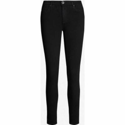 エージー AG レディース ジーンズ・デニム ボトムス・パンツ The Legging Ankle super-skinny mid-rise jeans SUPER BLACK