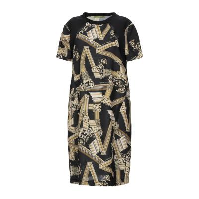 VERSACE ミニワンピース&ドレス ブラック 40 ポリエステル 100% / ポリウレタン / レーヨン / ナイロン ミニワンピース&ドレス