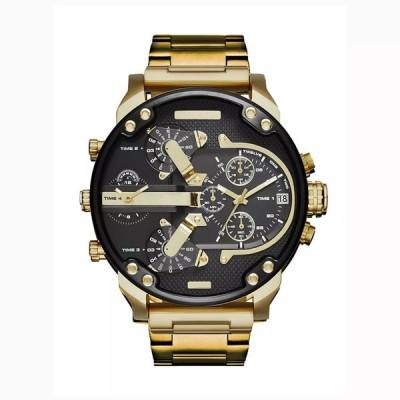 男性用スポーツウォッチ,大型時計,ステンレス鋼,ファッショナブル 高級品,カジュアルとビジネス用,男性用