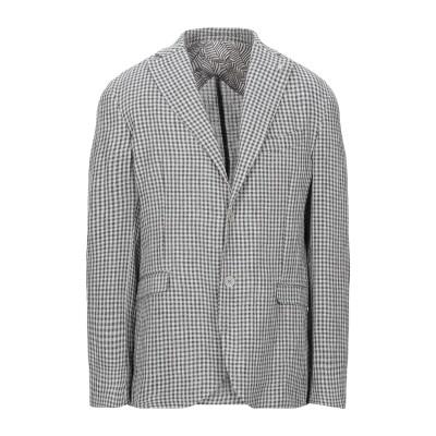 BARBATI テーラードジャケット ライトグレー 48 麻 70% / コットン 30% テーラードジャケット