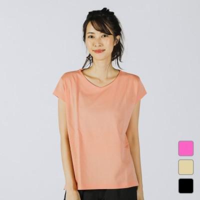 ティゴラ レディース 半袖Tシャツ ドローコードチュニックTシャツ 半袖 TR-9P2290TS TIGORA