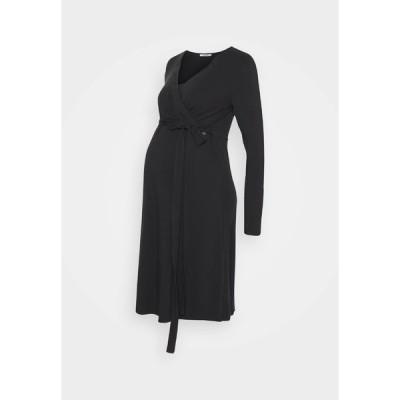 ラブ トゥー ウェイト ワンピース レディース トップス DRESS NURSING - Jersey dress - black