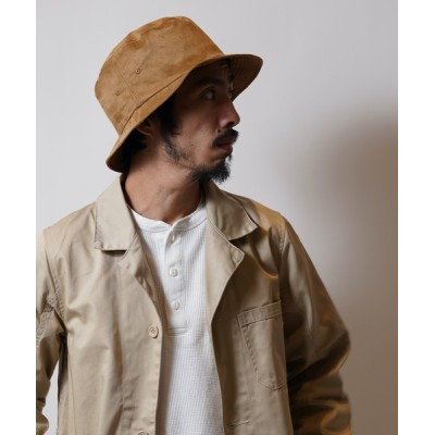 MIG&DEXI / FAKE LETAHER BUCKET HAT フェイクレザーバケットハット MEN 帽子 > ハット