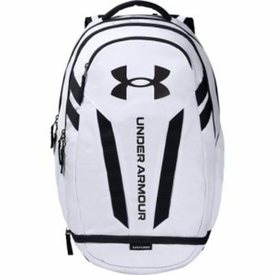 アンダーアーマー Under Armour ユニセックス バックパック・リュック バッグ hustle backpack 5.0 White/Black/Black