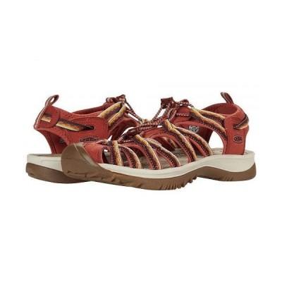 Keen キーン レディース 女性用 シューズ 靴 サンダル Whisper - Redwood