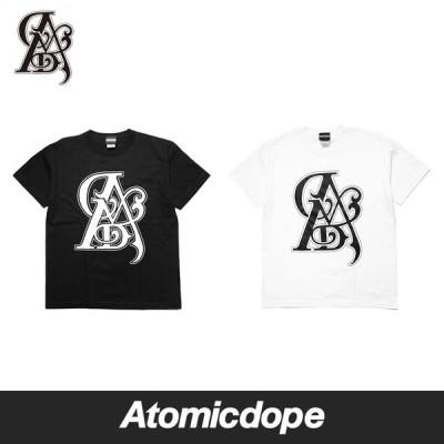Atomicdope GAK Tattoo Original Triangle AMD Tシャツ 黒 白 Tee Black White 半袖 アトミックドープ
