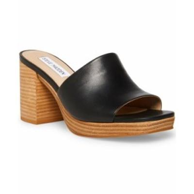 スティーブ マデン レディース サンダル シューズ Women's Elda Platform Clog Sandals Black