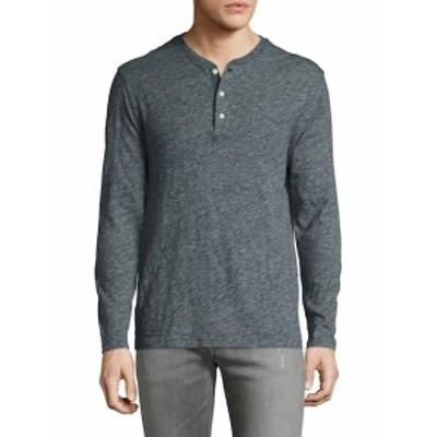 ファリティー メンズ トップス Tシャツ ポロシャツ Heather Solid Henley