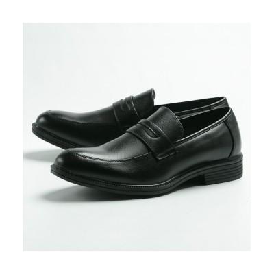 【フットプレイス】 ハイブリットウォーカー メンズ ビジネス ORHW3653 メンズ ブラック 24.5cm FOOT PLACE