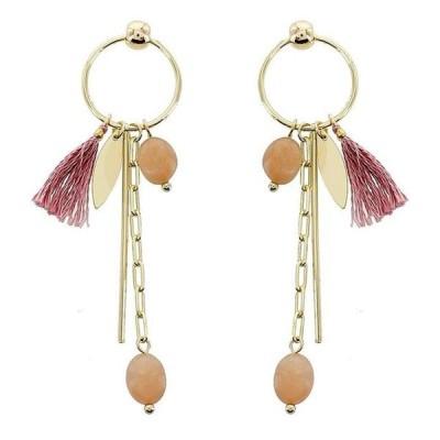 パナセラ レディース ピアス・イヤリング アクセサリー Gold Post Charm Earrings