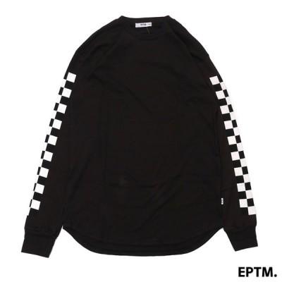 新品 EPTM (エピトミ)RACER L/S TEE[長袖Tシャツ]VINTAGE BLACK999-005242-031(TOPS)