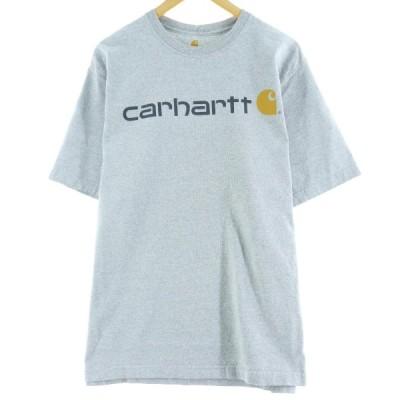カーハート Carhartt ロゴプリントTシャツ メンズL /eaa063516