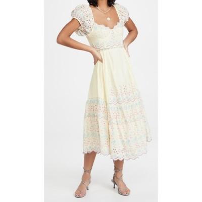 ラブシャックファンシー LOVESHACKFANCY レディース ワンピース ワンピース・ドレス Magena Dress Rise and Shine