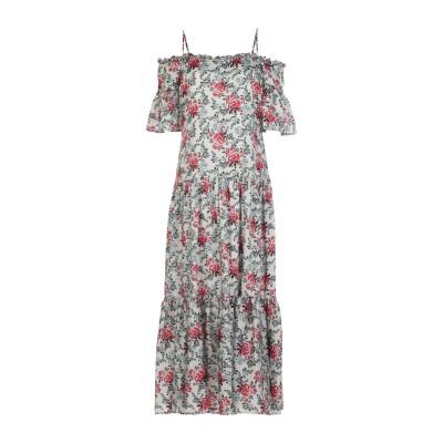 シルビアンヒーチ SILVIAN HEACH 7分丈ワンピース・ドレス ベージュ XXS ポリエステル 100% 7分丈ワンピース・ドレス
